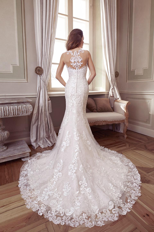 Elisabeth Grace menyasszonyi ruha 9423EG b